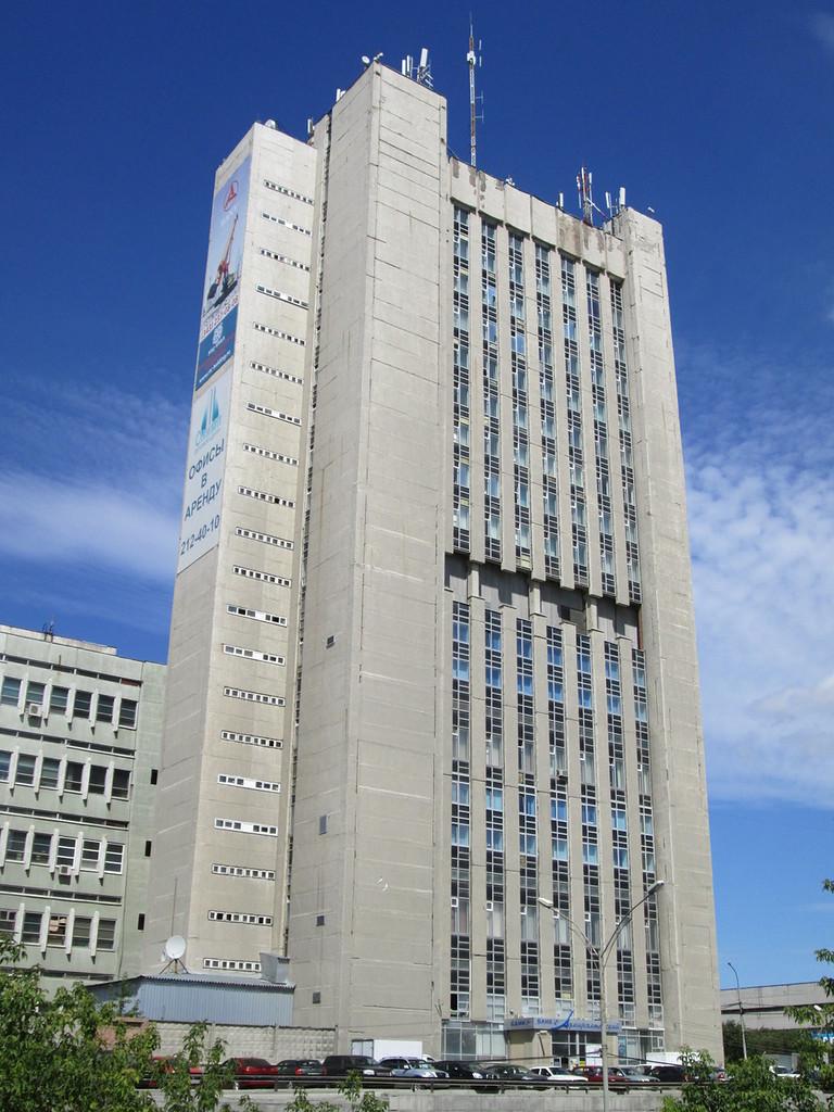 Головной офис компании Металлтехсервис находится в БЦ Олимп